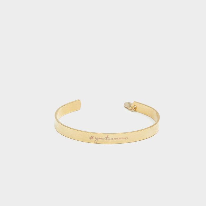 gold 6mm cuff