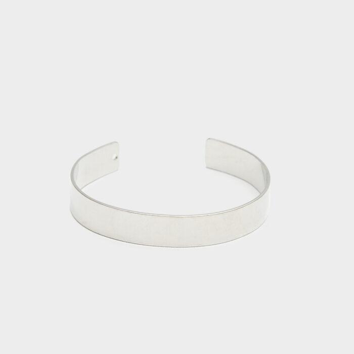 silver rhodium 10mm cuff 2