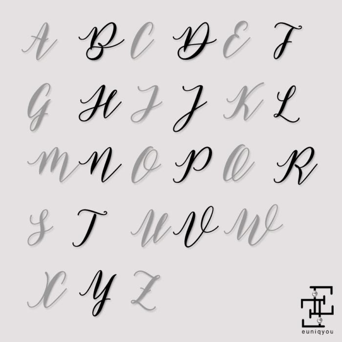initials
