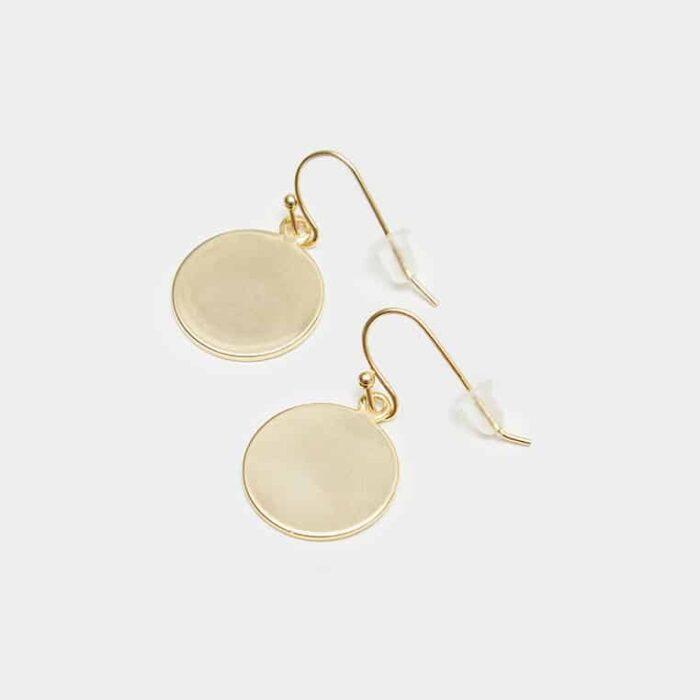 gold drop earrings 2