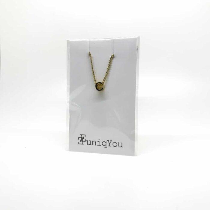14kgold initial bracelet
